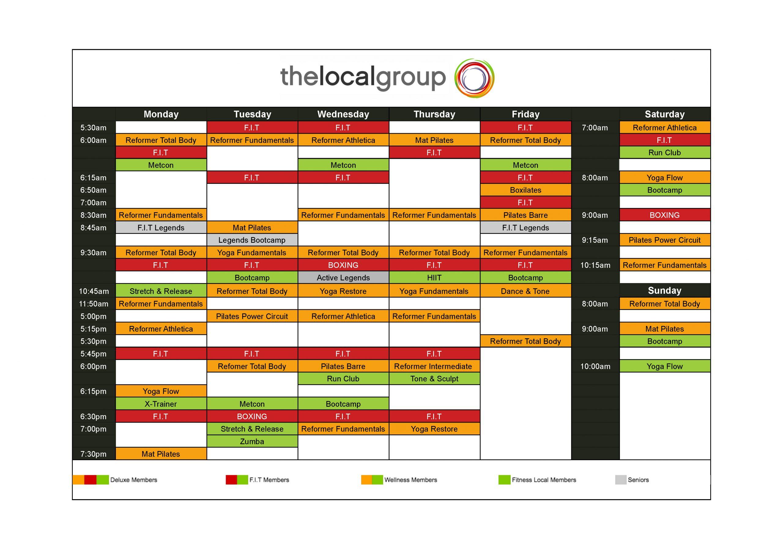 Mortlake Timetable